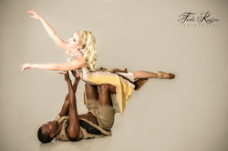 Dancer couple