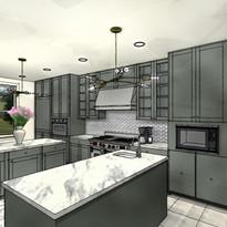 Highland Park kitchen 2
