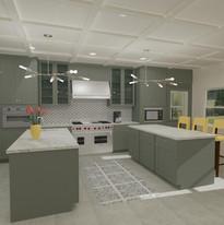Highland Park kitchen