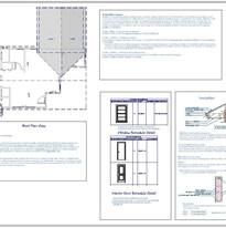 Detail Blueprints for Permits