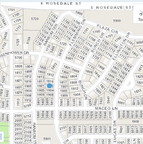Vicinity for permit application