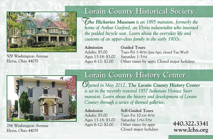 Lorain County Historical Society Ad
