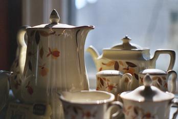 Autumn Leaves Teapots