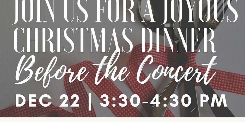 A TFIWC Christmas Dinner (free event!)