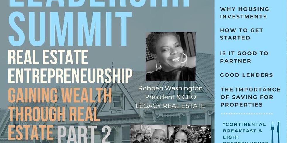 4th Quarter Leadership Summit: Entrepreneurship and Investment