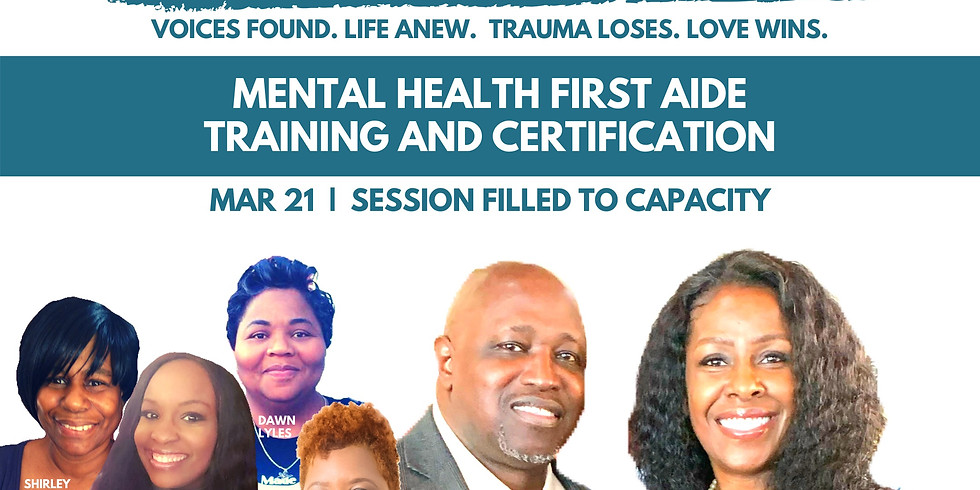 TamarSpeaks: Mental Health First Aide Training and Certification
