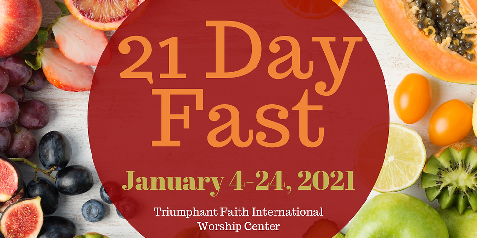 21 Day Corporate Prayer Consecration and Fast