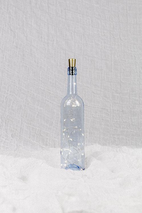 Flasche mit Licht