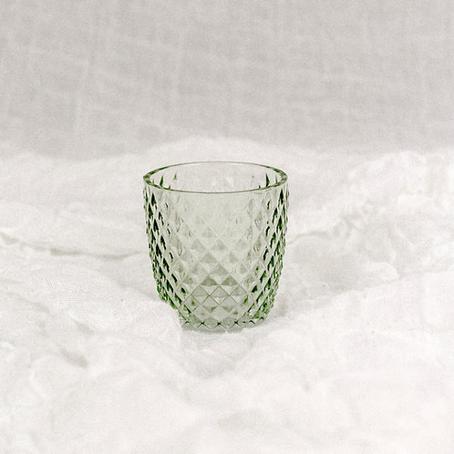 Teelichthalter 4er Set | blau | grün | türkis