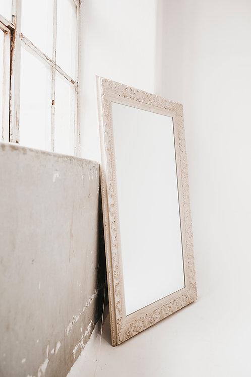 Spiegel | vintage | weiß