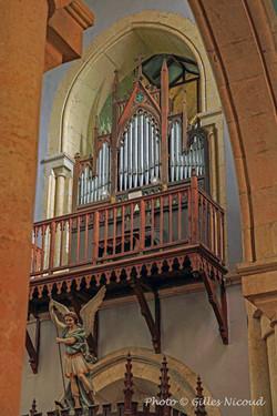 Saint-Clar-orgue église Saint-Clair