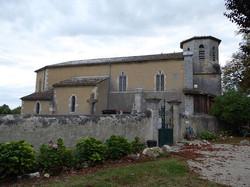 Eglise paroissiale Sainte-Blandine à Castet-Arrouy