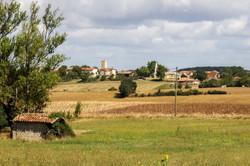 Gaudonville-vue du village