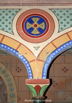 pilier-église St-Créac-pic Gilles Nicoud