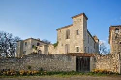 Saint-Léonard-le château du XVème