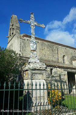 église StCréac-croix de mission-pic Gill