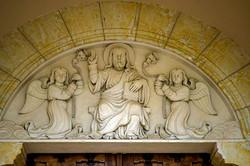 église de Magnas-tympan