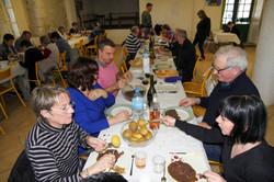 Yves Martin-repas des chasseurs Saint-Créac 6 février2016