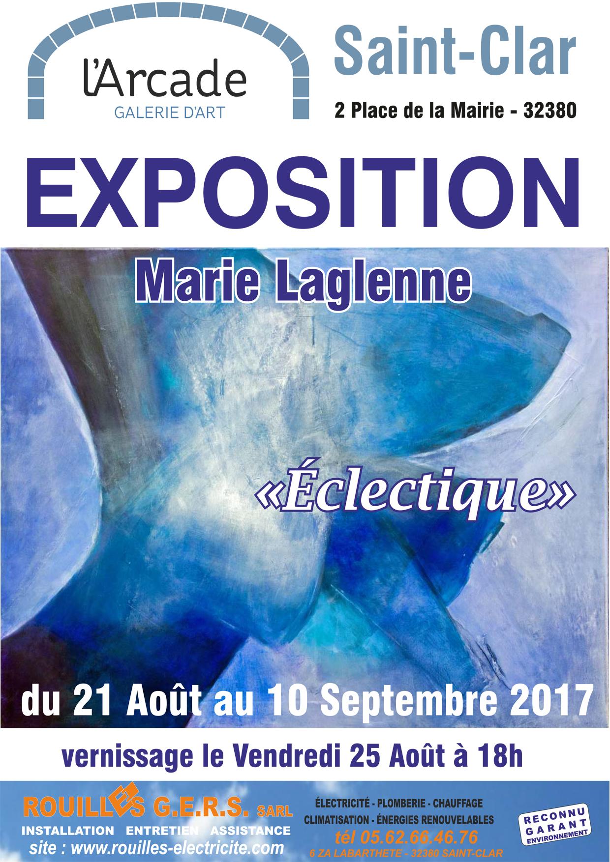 Galerie d'Art l'Arcade Saint-Clar_Marie