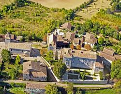 Gramont-château vue aérienne-2011-R
