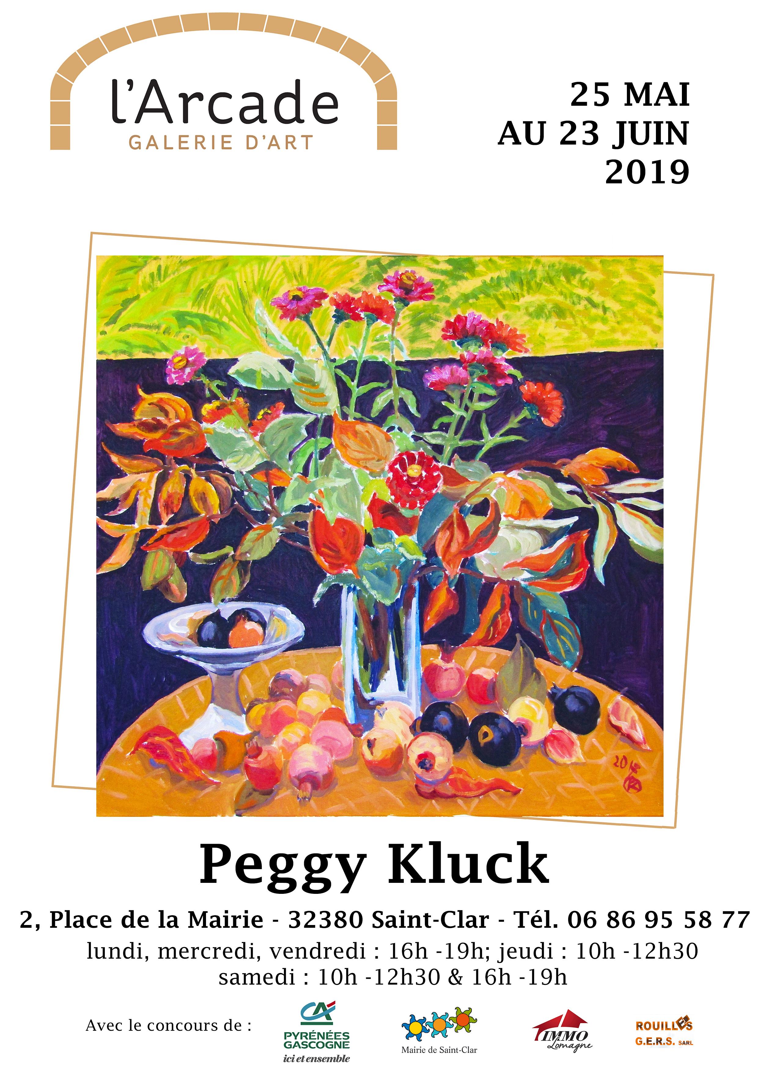 Affiche A4-Peggy Kluck-avec horaires