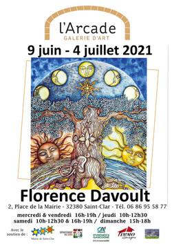 Affiche A4-Florence Davoult