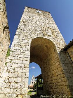 Gaudonville-tour du XIIIème-côté ouest