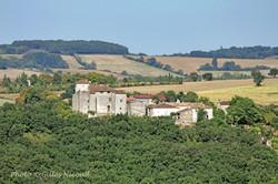 Avezan-château-façade ouest-vue depuis S