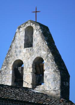 mur clocher-église St-Créac-Gilles Nicoud