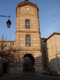 Tour de l'Horloge à Auvillar