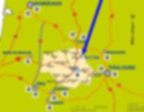 Carte_sud_ouest_france_StClar_avec_flèch