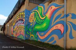 Saint-Clar-street art Thomas Deudé