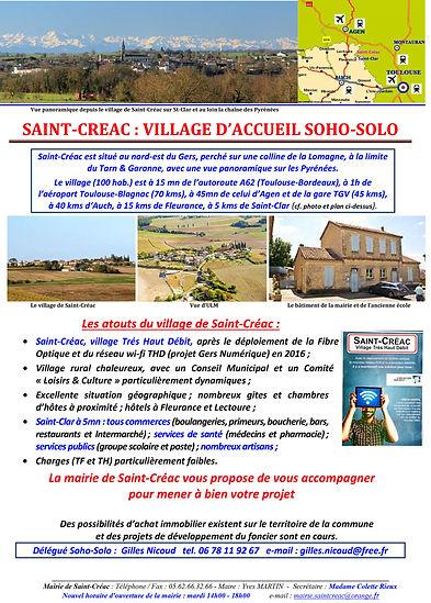 Affiche_St-Créac_village_d'accueil_Soho