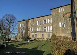 Marsac-château entrée sud
