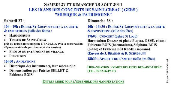 invitation expo+concert Saint-Créac-27 &