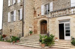 Marsac-château entrée principale