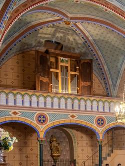 orgue Patrice Beorgue Patrice Bellet église Saint-Créac-30aout2020 © Gilles Nicoud
