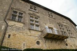 Marsac-château façade nord-est