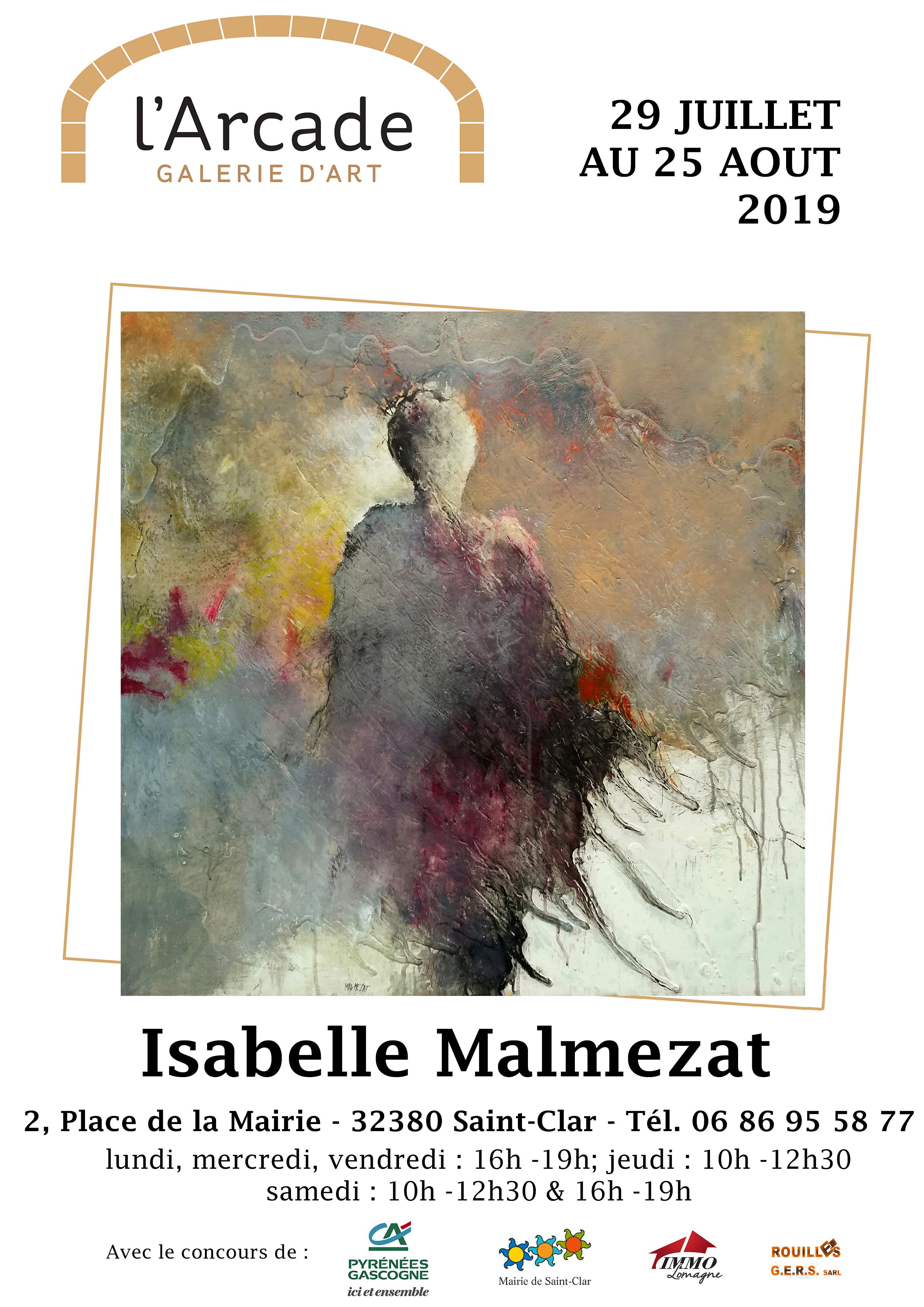 Affiche A4-Isabellle Malmezat-avec horai