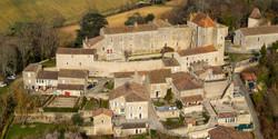 Château de Gramont-vue aérienne