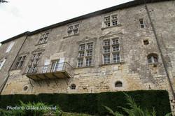 Marsac-château façade nord-est-perron-2.
