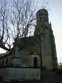Eglise Saint-Michel à Mauvezin