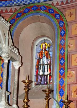 vitrail St-Loup2-église St-Créac-pic Gil
