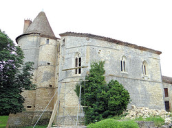 Château de Bouvées à Labrihe