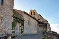 Lachapelle-en-Lomagne-entrée Église