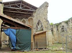 Ancienne église à Flamarens
