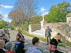 Yves Martin-FYves Martin-Fondation du patrimoine-Croix mission StCréac-27sep2015