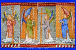 les 4 anges-église St-Créac-pic Gilles N