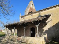 Pessoulens-église Pordiac