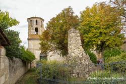 Tournecoupe-église du du XVI°s & clocher